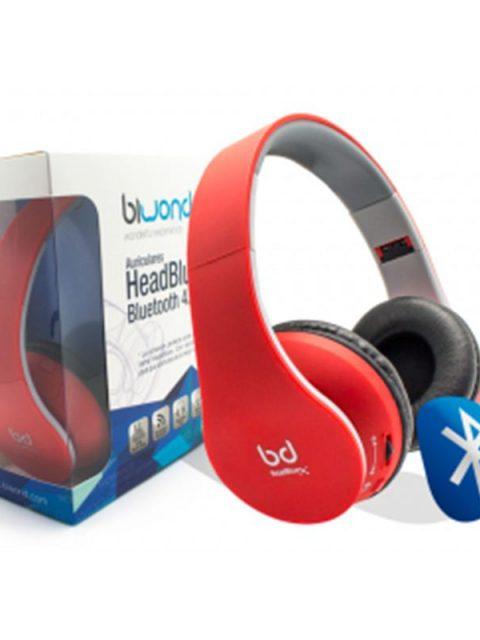 auricular-headbluex-bluetooth-4-0-rojo-biwond